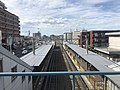 View from overpass of Kyusandai-mae Station 2.jpg