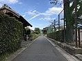 View near gate of former Hagi Residence of Fukuhara Family.jpg