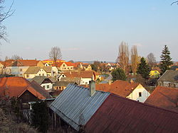 View of Okříšky, Třebíč District.JPG