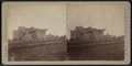 View of a damaged house with collapsed roof, by Camp, D. S. (Daniel S.).png