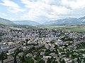 View over Gjirokastra from Gjirokastra Castle - Gjirokastra - Albania (41665286494).jpg