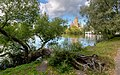 View to Saints Peter and Paul Cathedral in Peterhof 03.jpg