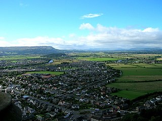 Viewing West from atop the Wallace Monument - geograph.org.uk - 104789.jpg