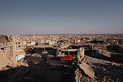 Views around the city center of Shingal (Sinjar) in summer of 2019, following the war with the Islamic State 16.jpg