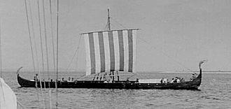 History of Scandinavia - A reconstructed Viking ship