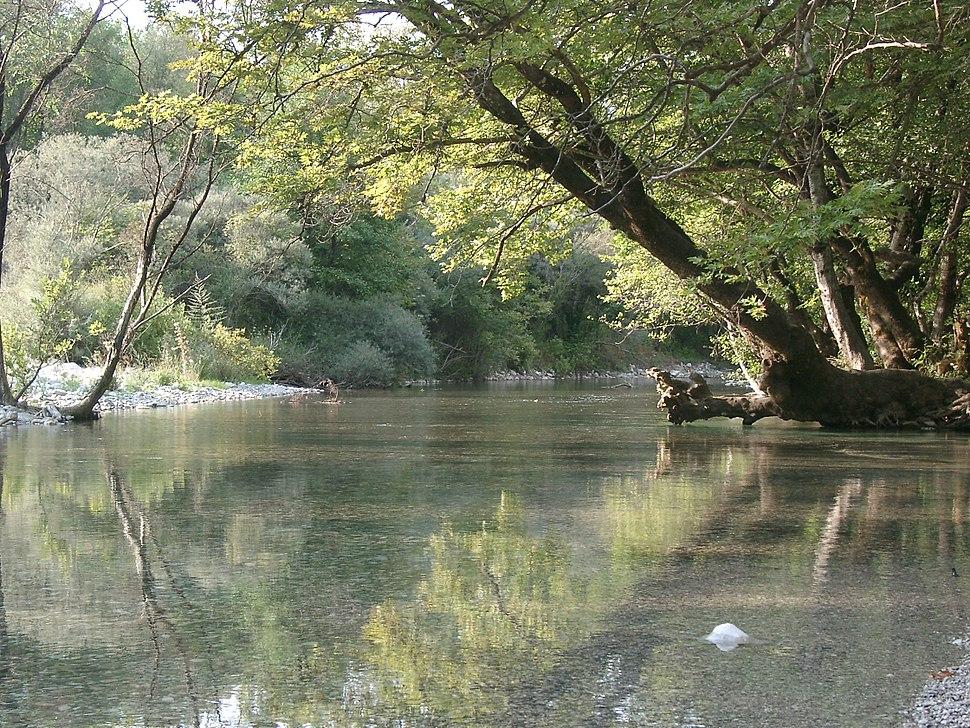 Vikos river, Epirus, Greece