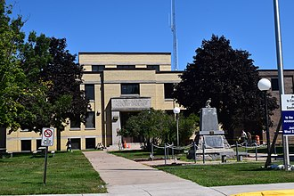 Vilas County, Wisconsin - Image: Vilas County Courthouse