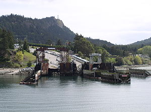 Mayne Island - Village Bay, Mayne Island's ferry dock