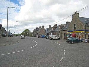 Maud, Aberdeenshire - Maud village centre