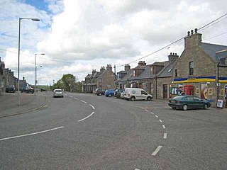Maud, Aberdeenshire town in the Buchan area of the Scottish county of Aberdeenshire