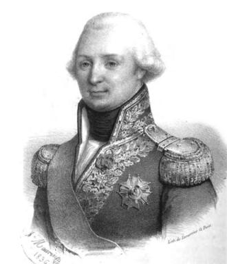 Louis Thomas Villaret de Joyeuse - Portrait of Villaret-Joyeuse, by Antoine Maurin