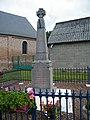 Villeroy, Somme, Fr, monument aux morts pour la patrie, 1914-1918.jpg