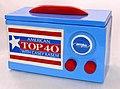 Vintage Casey Kasem American Top 40 Radio Promotional Ceramic Cookie Jar, Autographed by Casey Kasem, Circa 1998 (7105872661).jpg