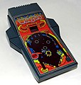 Vintage Wildfire Electronic Handheld Game by Parker Brothers, Model No. 3400, Takes 6 AA-Size Batteries, The Electronic Pinball Game That Sounds And Plays Like The Real Thing, Made In USA, Copyright 1979 (8684344120).jpg