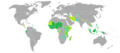 Visa requirements for Togolese citizens.png