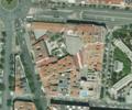 Vista aérea de la manzana del Colegio Cervantes, Madrid, 2014. PNOA, cedido por © Instituto Geográfico Nacional.png