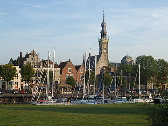 Veere - The city of Veere in 2007