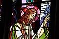 Vitrail de l'église Saint-Gérand (Le Palais) par les ateliers Mauméjean - Christ 1.jpg
