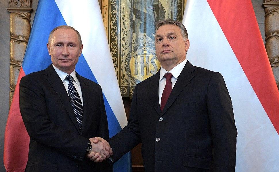 Vladimir Putin and Viktor Orbán (2017-02-02) 2