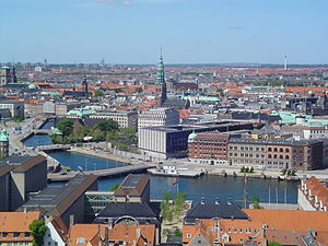 Geography of Denmark - A large part of Denmark is highly urbanised, including Greater Copenhagen, the capital region.