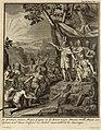 Voyage historique de l'Amerique Meridionale, 1752 Le premier Ynca Manco Capac et la Reine Coya Mama Oello Huaco son Epouse toux deux Enfans ou Soleil rassemblent les sauvages. (21083105528).jpg