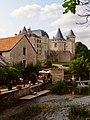 Vue château de Verteuil sur Charente avec moulin au 1er plan.jpg