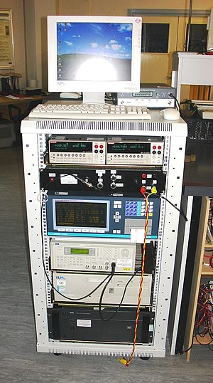 Wolfson Centre for Magnetics - An example of a measuring system