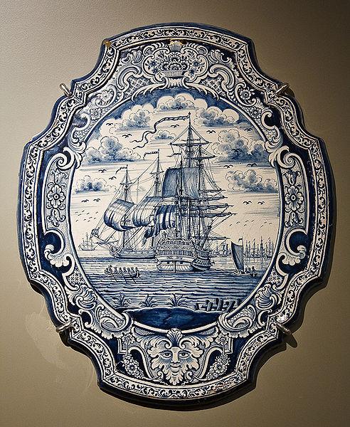 File:WLANL - MicheleLovesArt - Princessehof - Plaat met schepen.jpg