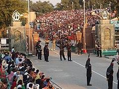 Wagah border ceremony2.jpg