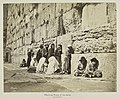 Wailing place of the Jews. Jerusalem (1870s-1880s). Bonfils, Félix. 76541.jpg