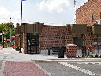 Wakarusa, Indiana - Wakarusa town hall