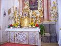 Waldsassen Wallfahrtskirche Kappl Innen Altar 1.JPG