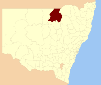 Walgett Shire - Location in New South Wales