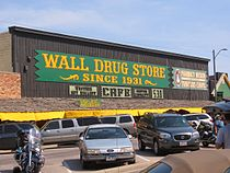 Wall Drug, le drugstore de Wall