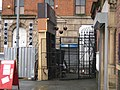 Wall of a pawn shop set for the Sherlock Holmes 2009 film in Stevenson Square, Manchester-2996194995.jpg