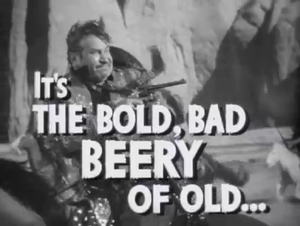The Bad Man (1941 film) - Sequence from the trailer featuring Wallace Beery