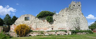 Wallingford, Oxfordshire - Ruins in the Wallingford Castle Gardens