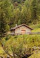 Wandeltocht rond Lago di Pian Palù (1800 m). in het Nationaal park Stelvio (Italië). Nederzetting Malga Palù (1826 m) 04.jpg