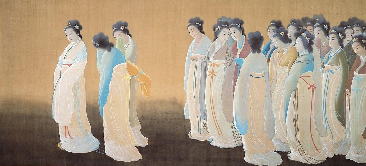 Wang Zhaojun - O Shokun by Hishida Shunso (Zenpoji Tsuruoka).jpg