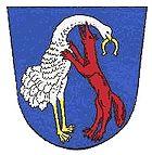 Das Wappen von Vohenstrauß