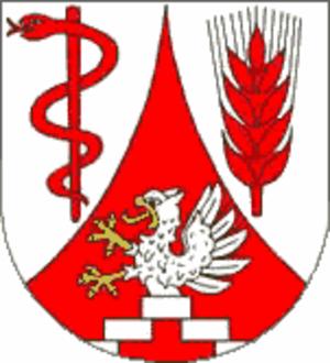 Karlsburg, Mecklenburg-Vorpommern - Image: Wappen Karlsburg