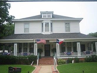 Crockett, Texas - Monroe-Crook House in Crockett