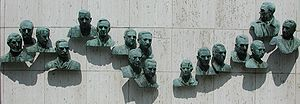 Edmond Amateis - Bronze busts in the Polio Hall of Fame