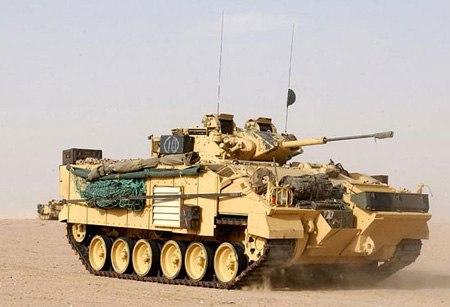 Warrior Infantry Fighting Vehicle