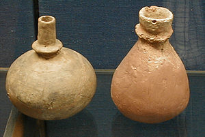 Wartberg culture - Collared bottles from the Züschen tomb