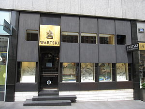 Wartski - Wartski on 14 Grafton Street, London (2011)