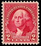Washingtonton bicentennial stamp, 2c, issue of 1932.JPG