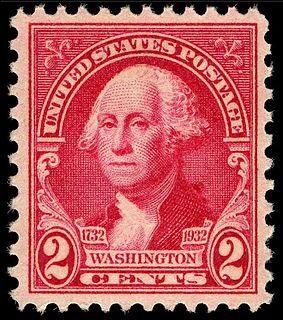 Washington Bicentennial stamps of 1932