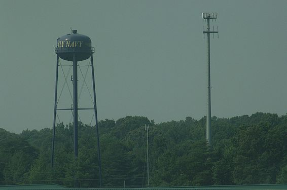 Water and Cell-Phone Towers in Patuxent River, MD (DSCF4797).jpg