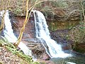 Waterfall at Pwll y Wrach - geograph.org.uk - 326662.jpg
